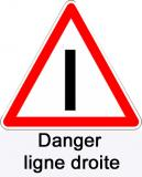 At danger ligne