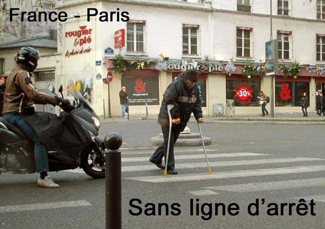 Paris cannes moto